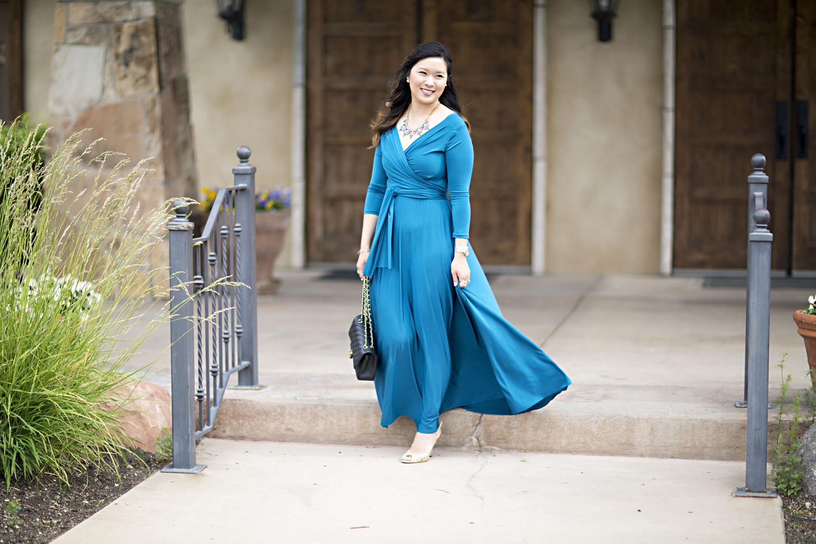 412aaa5a33 Sandy a la Mode | Fashion Blogger Henkaa Iris Convertible Dress ...