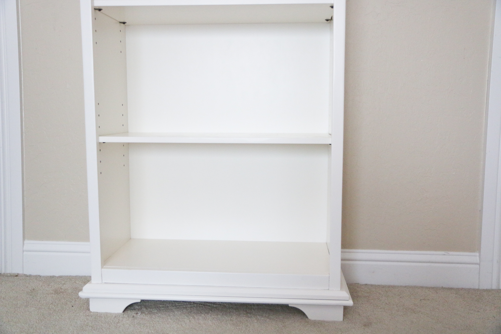 Downeast Home Bookcase Turned Into Diy Baby Girl S