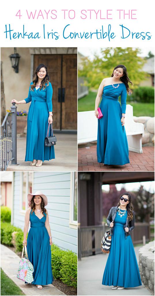 1290c752d6 Four Ways To Style The Henkaa Iris Convertible Dress | SandyALaMode