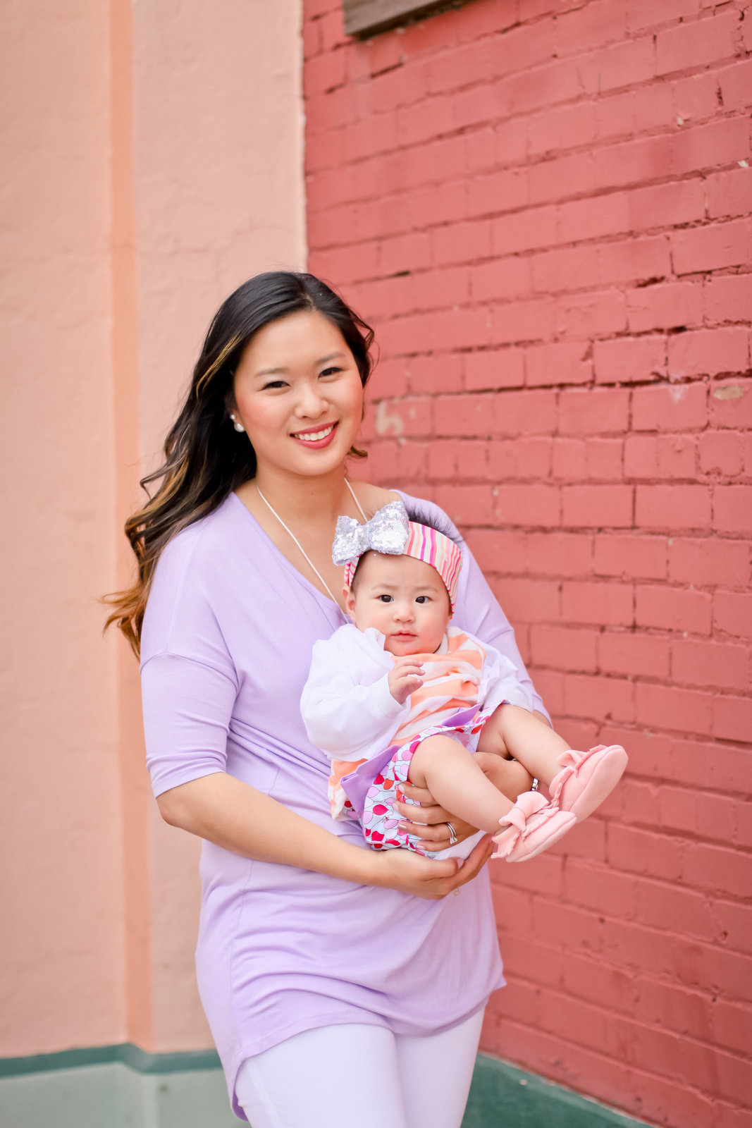 Sandy a la Mode | Mommy + Me in Pretty Pastels
