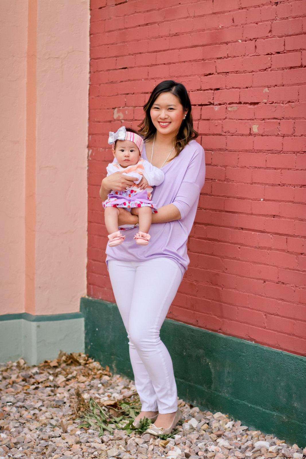 Sandy a la Mode | Mommy + Me in Pretty Pastels