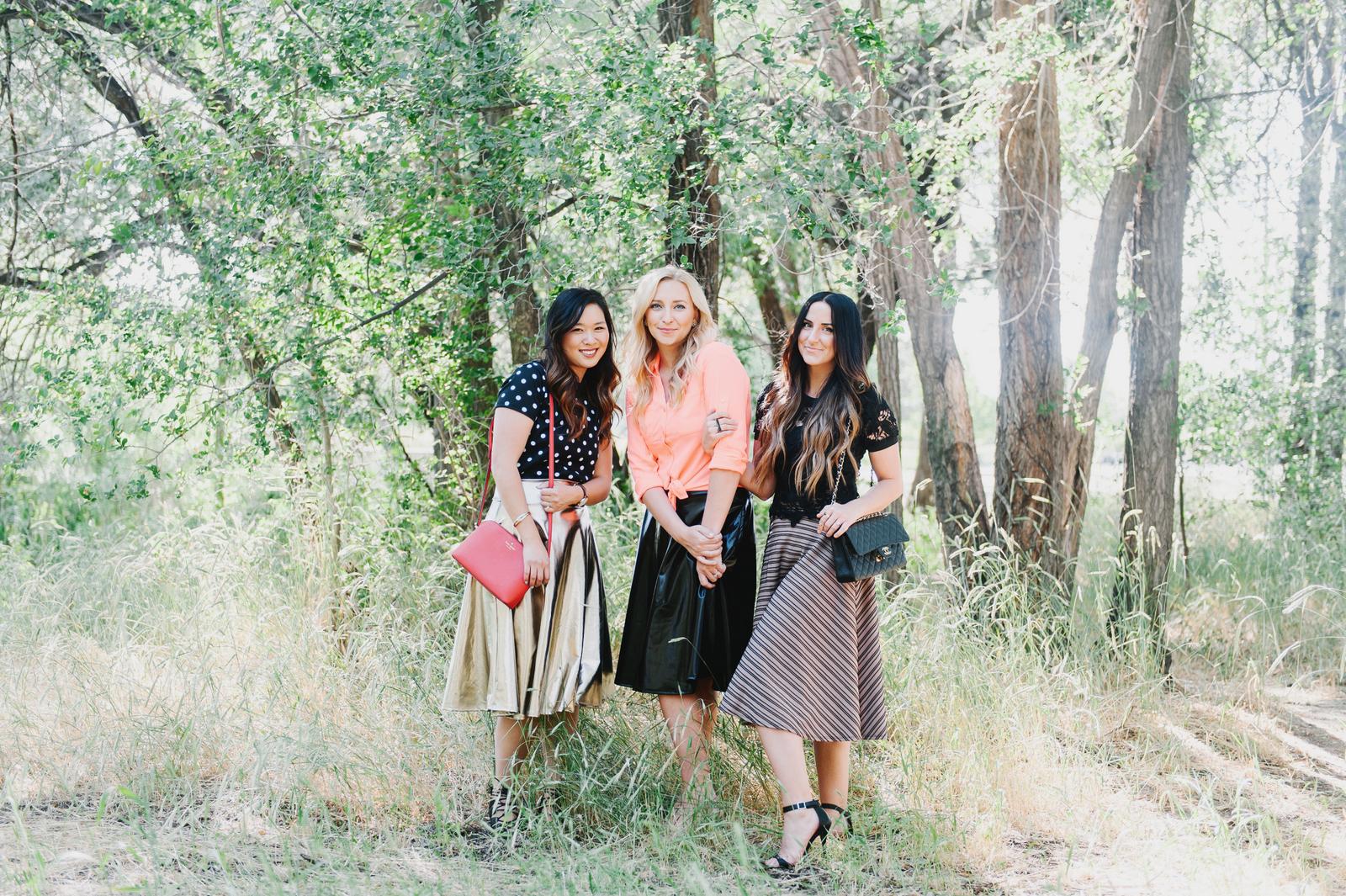 2f8bb3c8db Agnes and Dora Midi Skirt Love   SandyALaMode