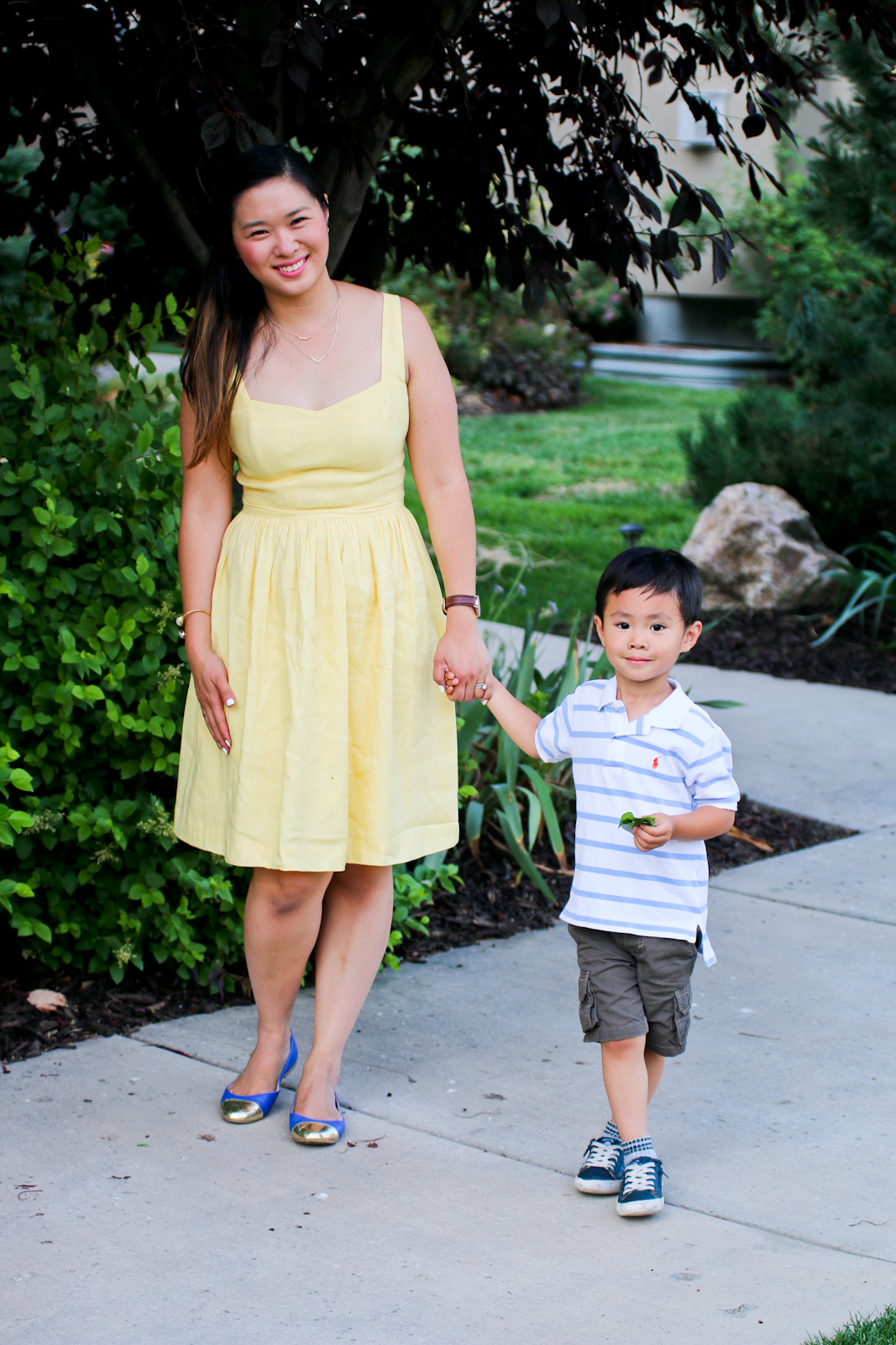 Sandy a la Mode | Fashion Blogger Mommy and Kids wearing thredUP