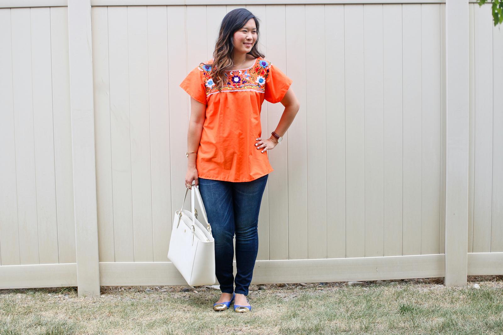 Sandy a la Mode Fashion Blogger Documenting 14 Days of Target Denim