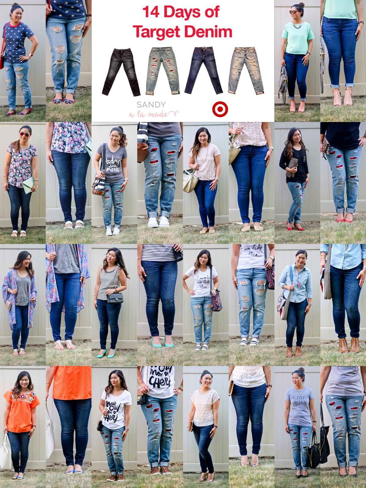 Sandy a la Mode | Fashion Blogger Styling 14 Days Of Target Denim