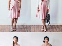 4 ways to style Henkaa Sakura
