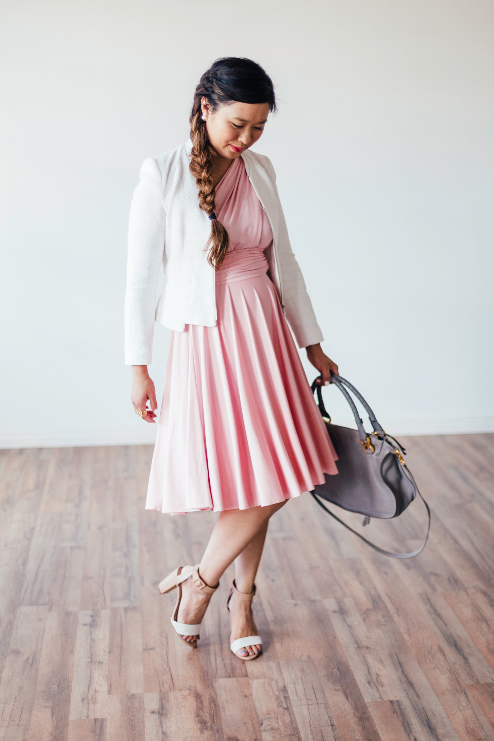 Sandy a la Mode | Fashion Blogger Styling Henkaa Sakura Convertible Dress