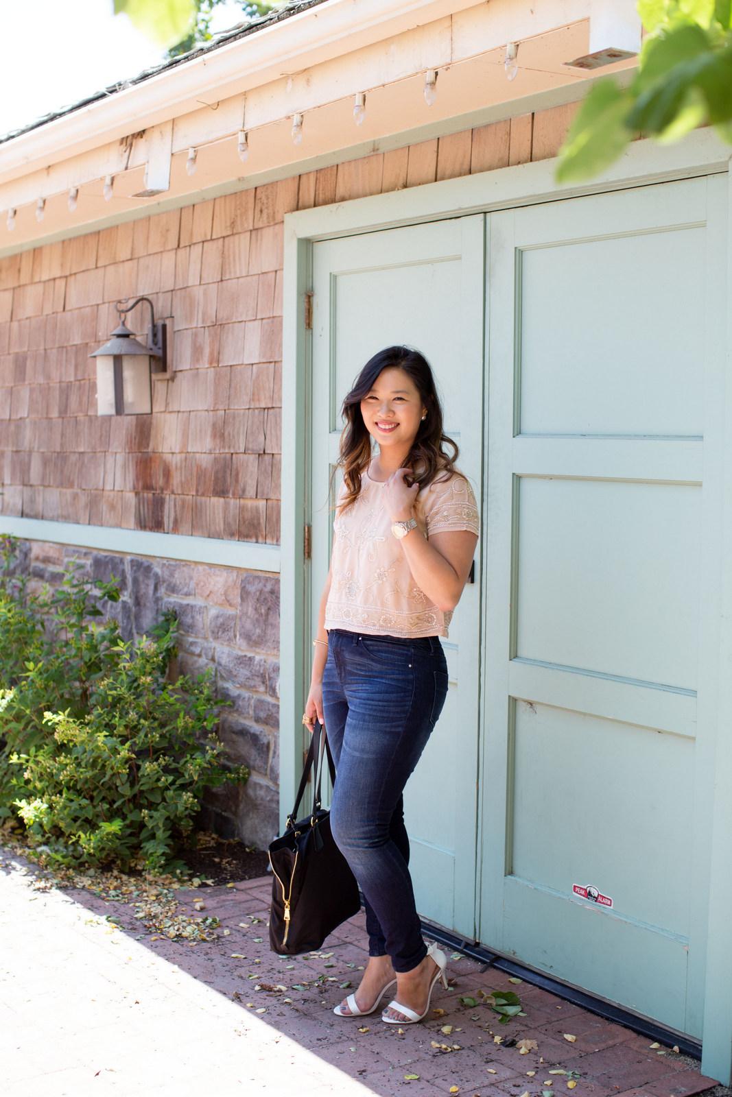 Sandy a la Mode | Fashion Blogger Wearing Target High Rise Denim