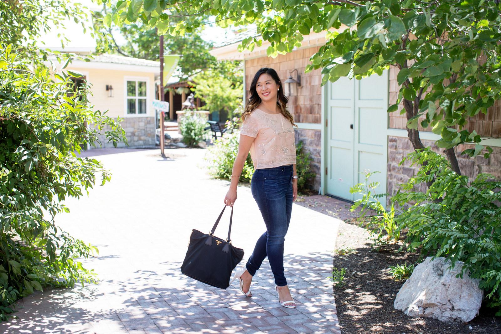 Sandy a la Mode   Fashion Blogger Wearing Target High Rise Denim