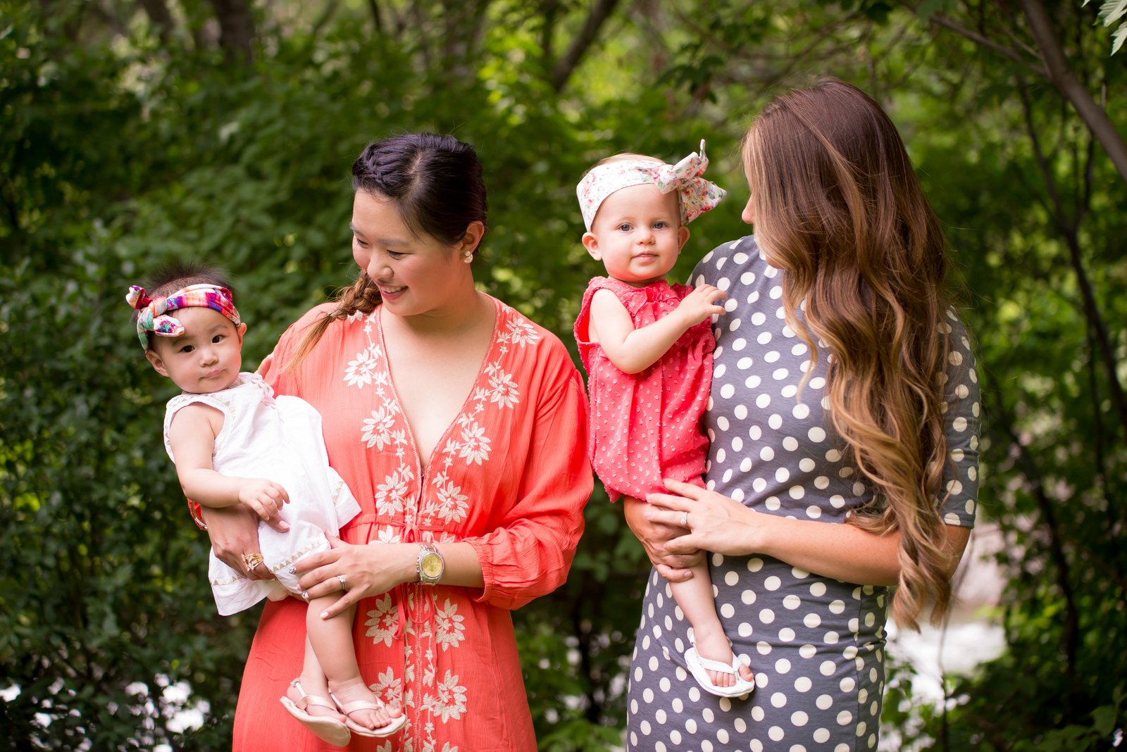 Sandy a la Mode | Mommy and Me Wearing Summer Dresses