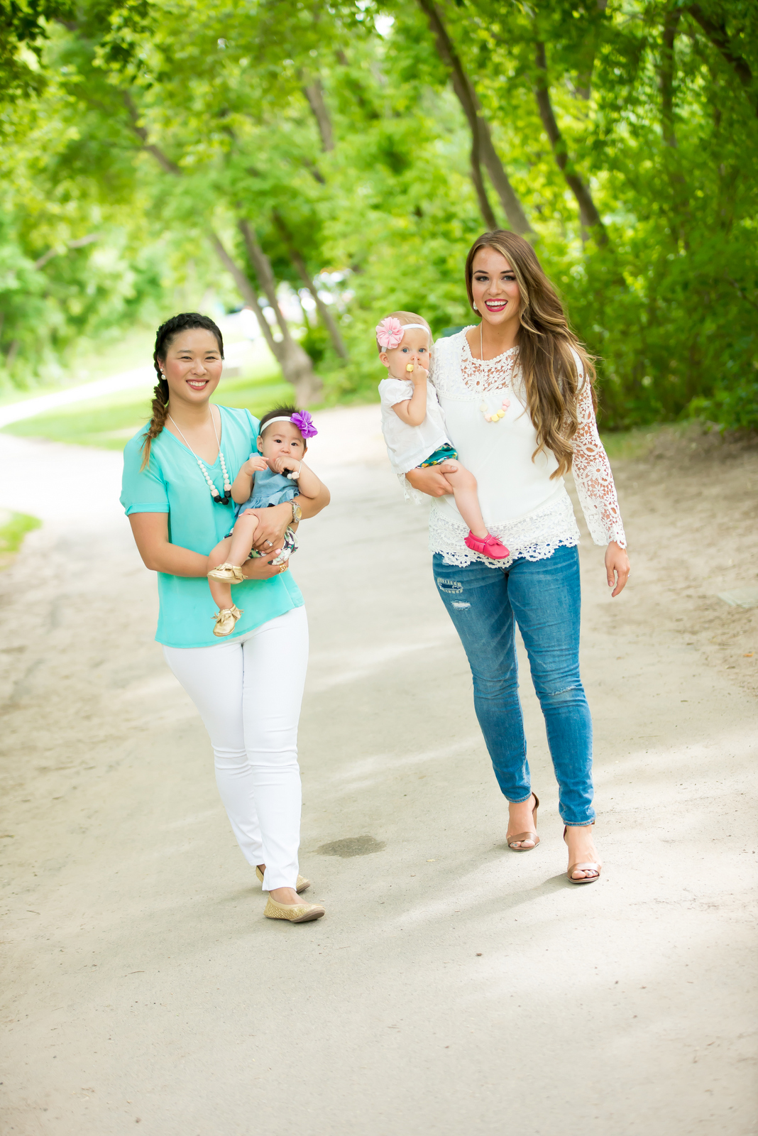 Sandy a la Mode | Mommy + Me Fashion with Bold Beautiful Life