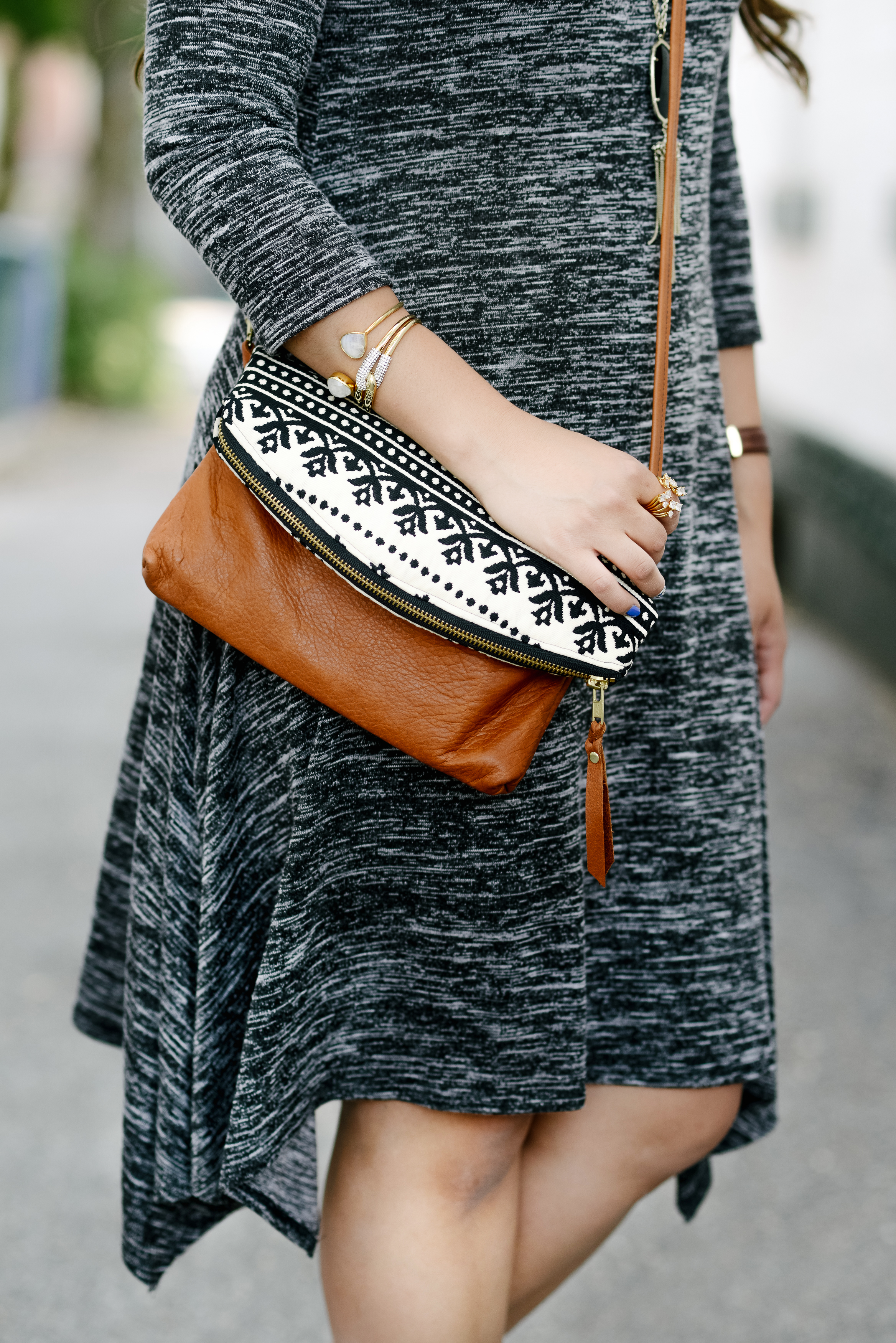 Neutral outfit style