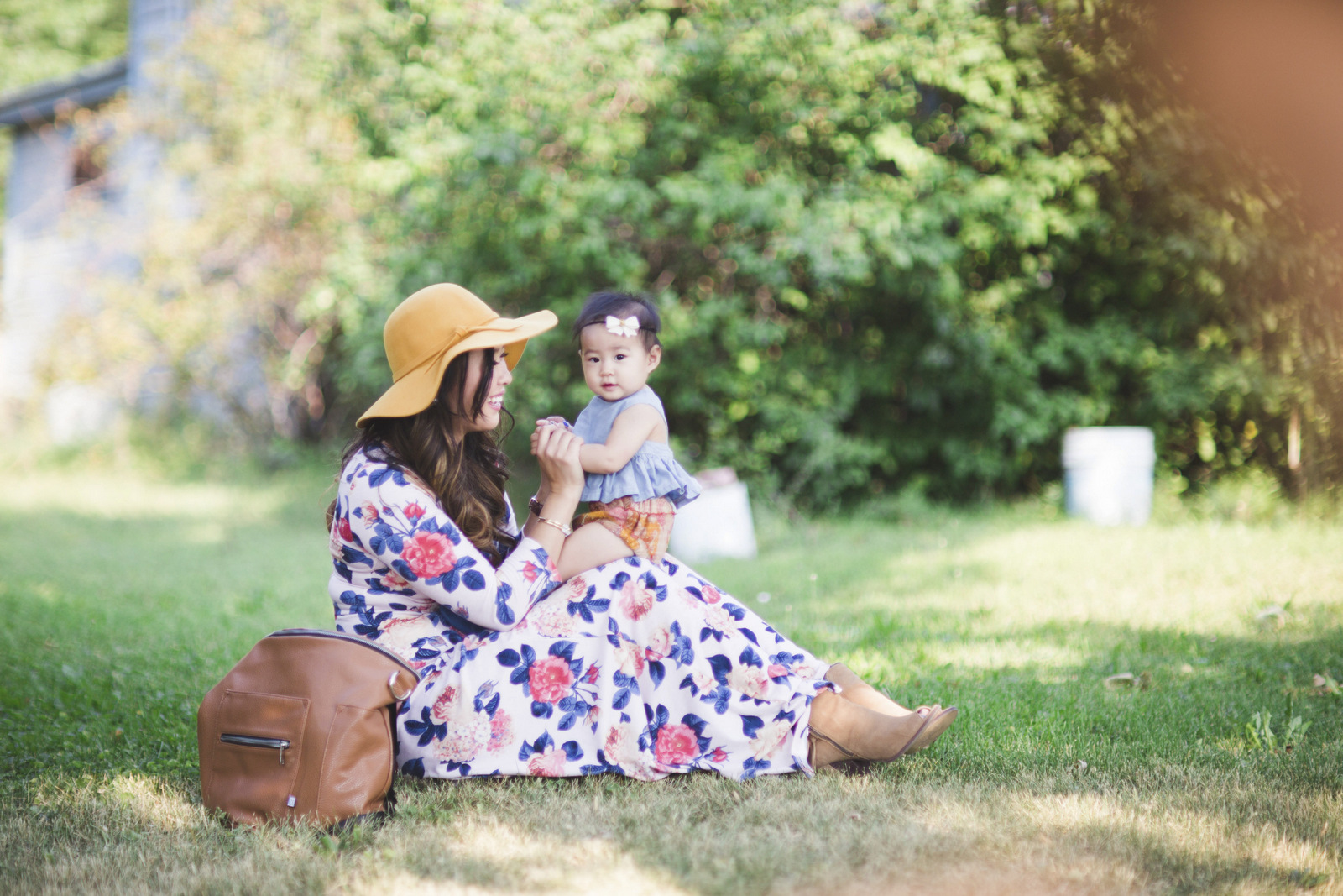 Fashion for mommy and baby girls