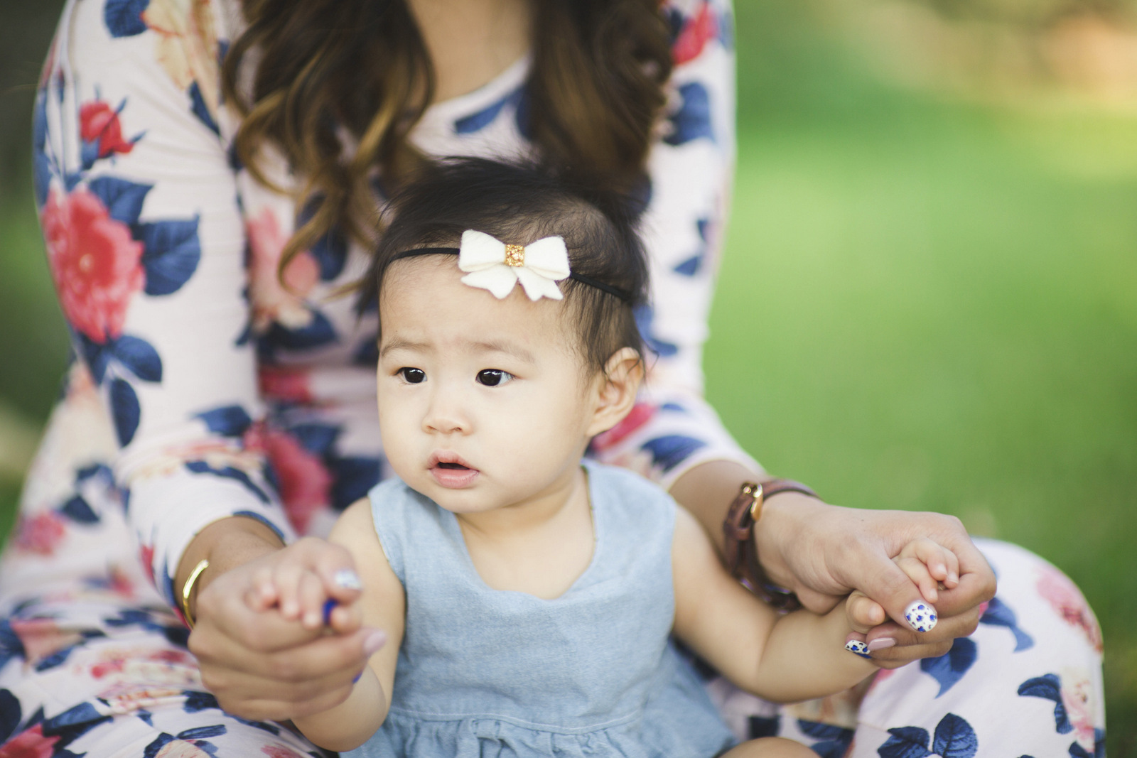 Mommy and me florals