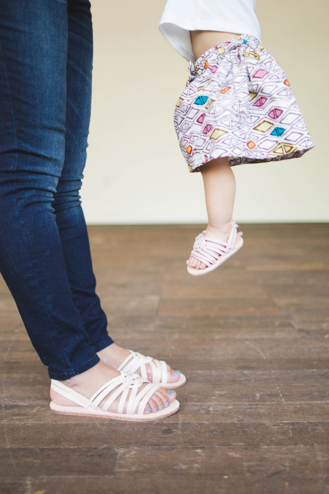 mommy and me chankklas sandals