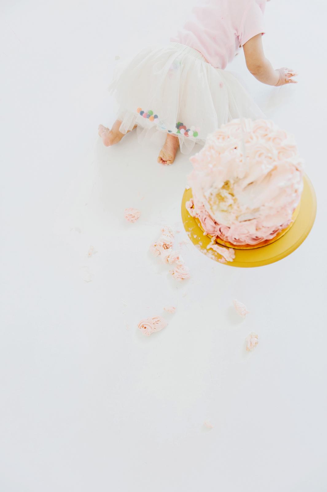 rosette cake smash