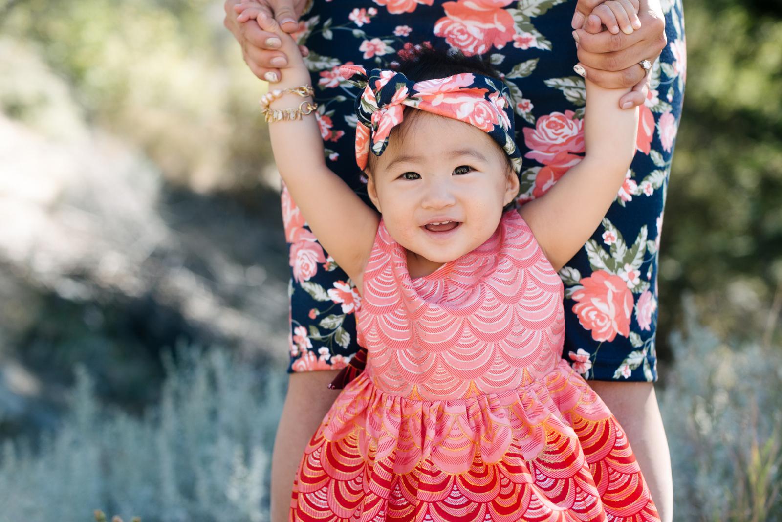 Baby girl Bapribap dress
