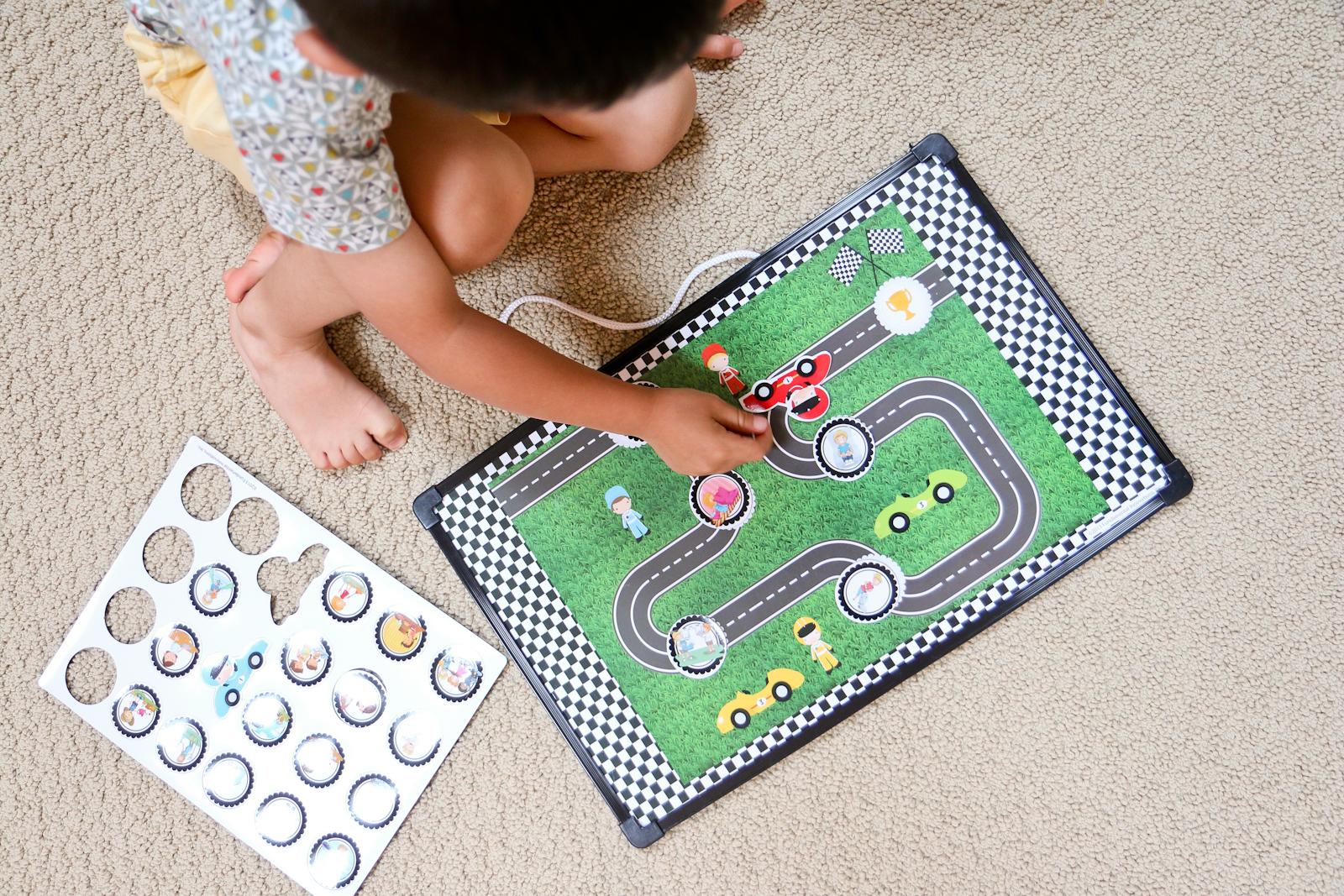 Toddler reward chart