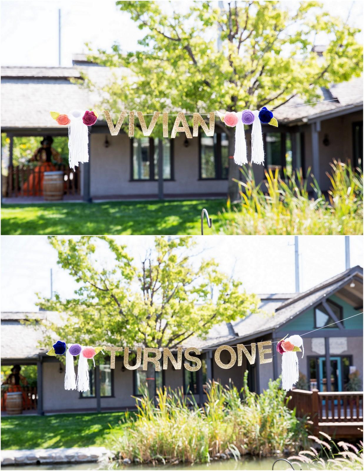 vivian turns one