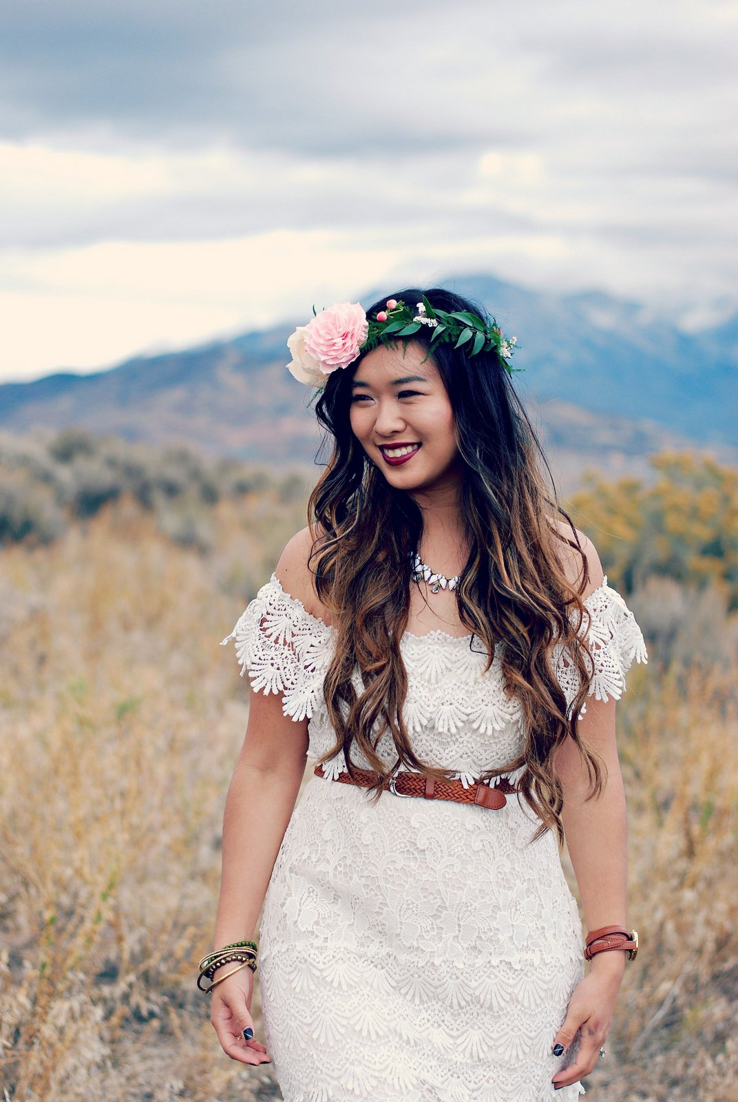 How to wear a boho look