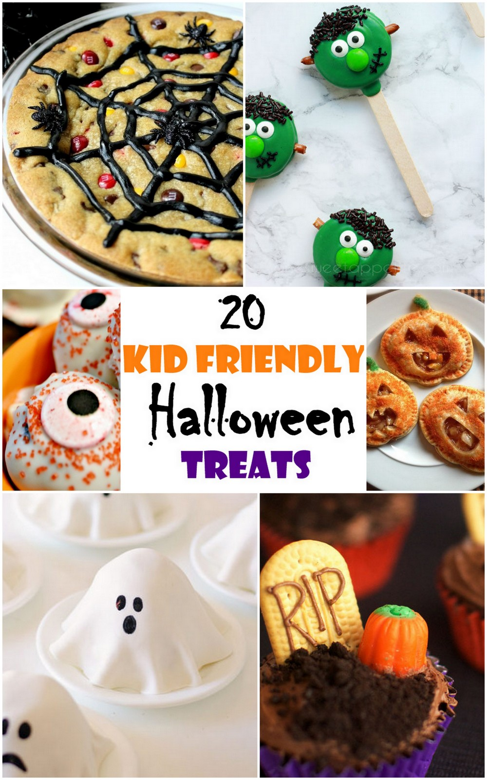 20 Kid-Friendly Halloween Treats Ideas! | SandyALaMode