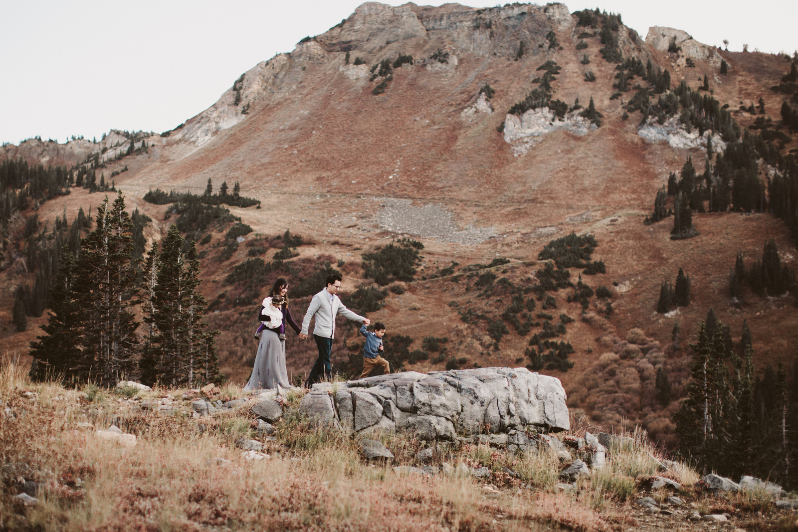 Fall Family Photos in the Utah Mountains