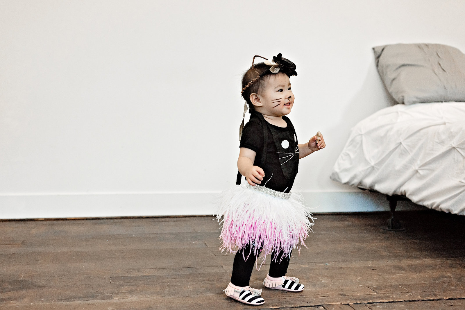 Baby girl cat costume
