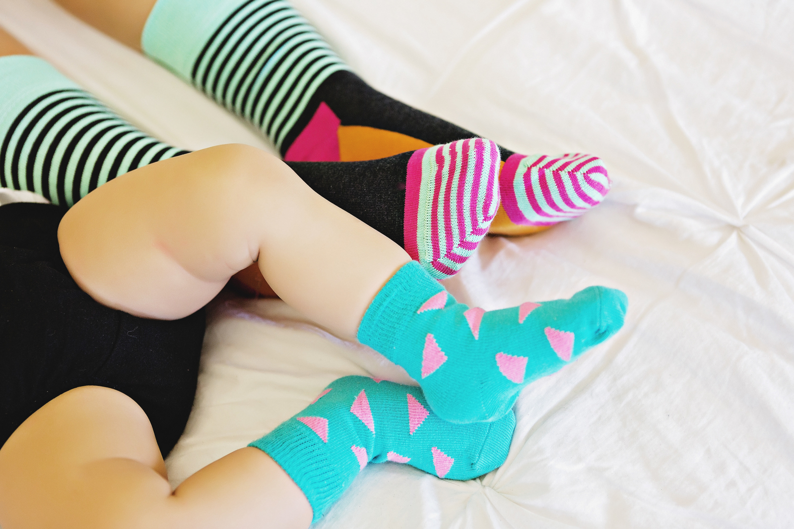 Mommy and me Happy Socks