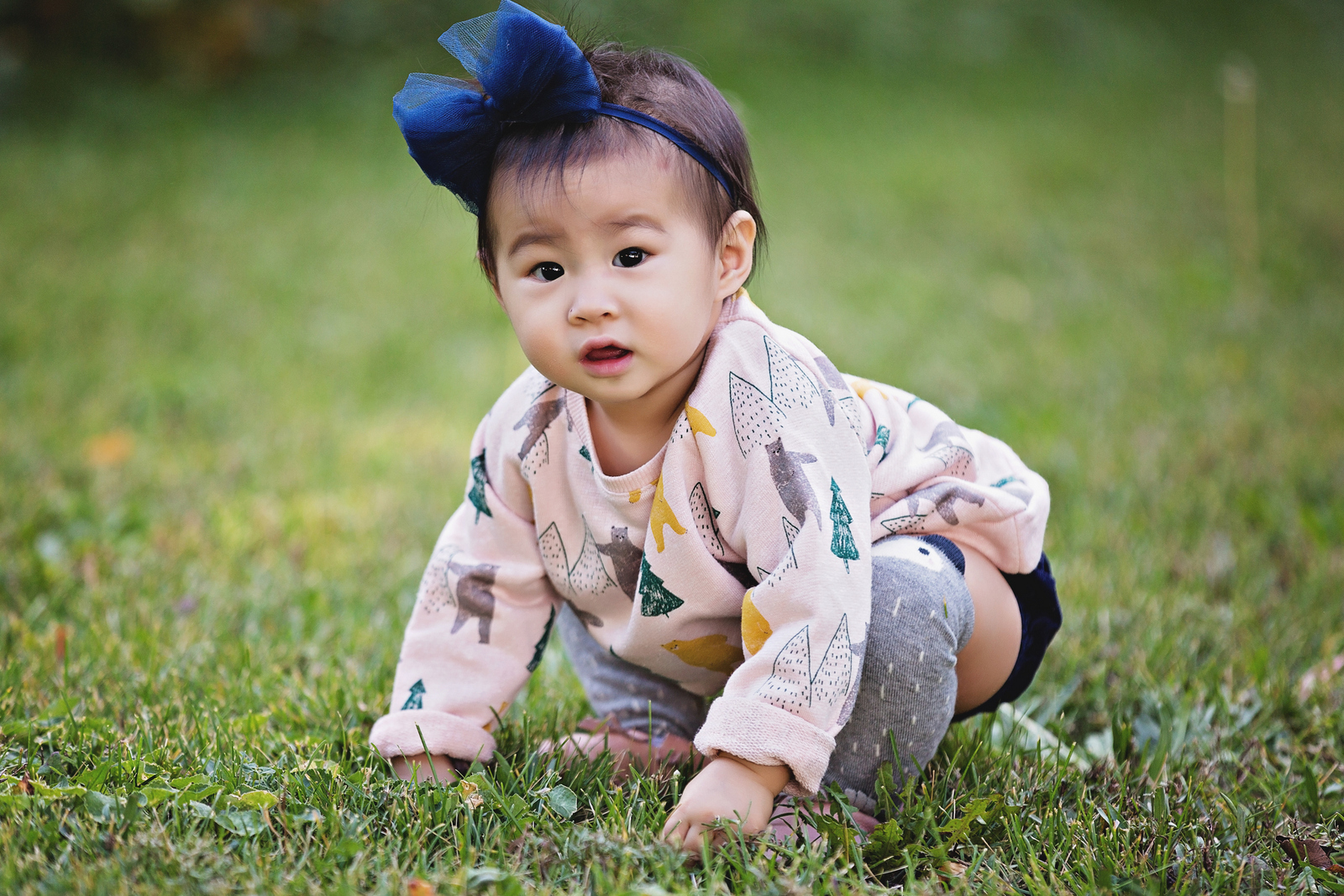 How to dress your baby girl for fall