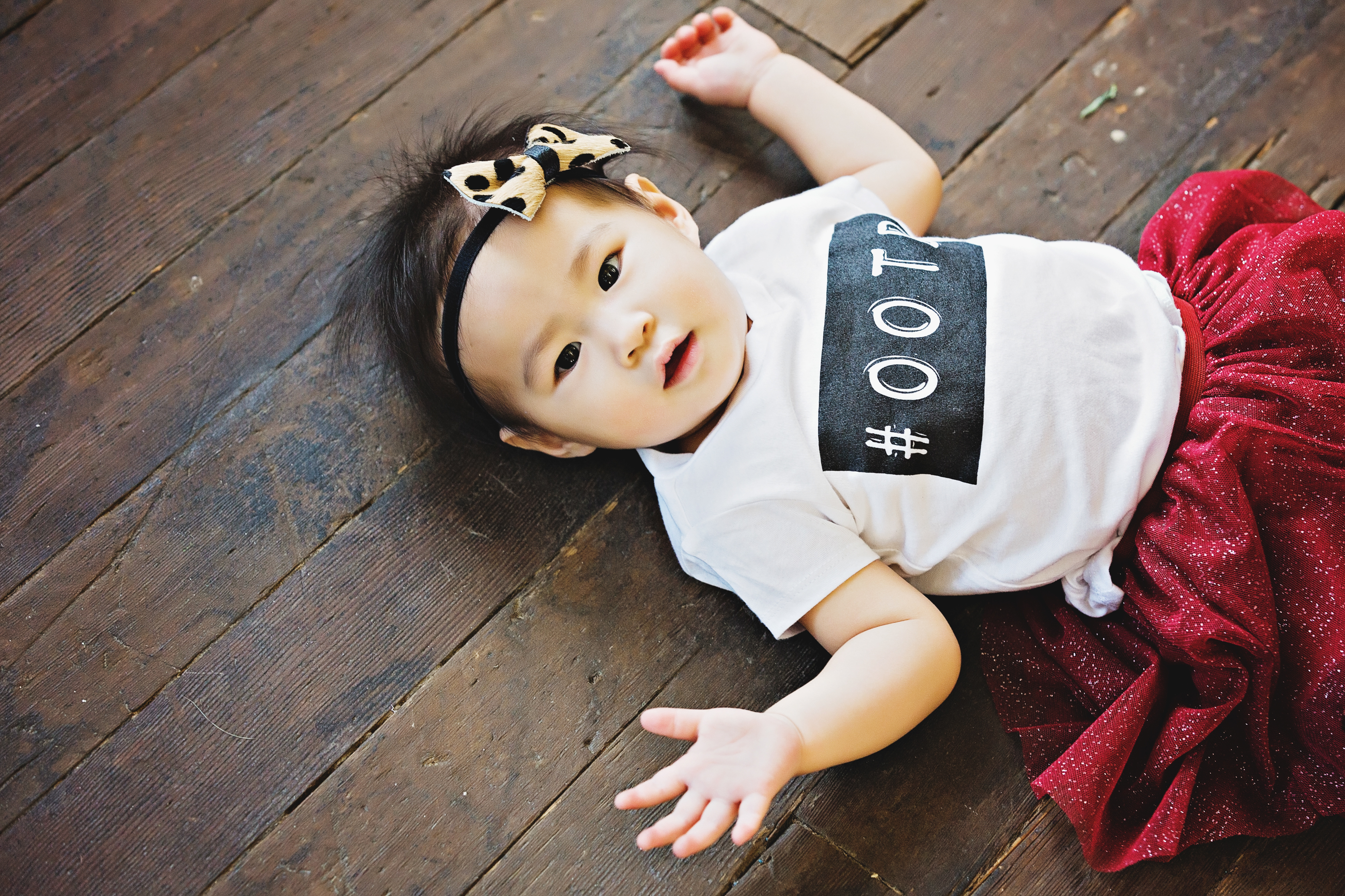 Baby girl wearing #ootd shirt from Cents of Style