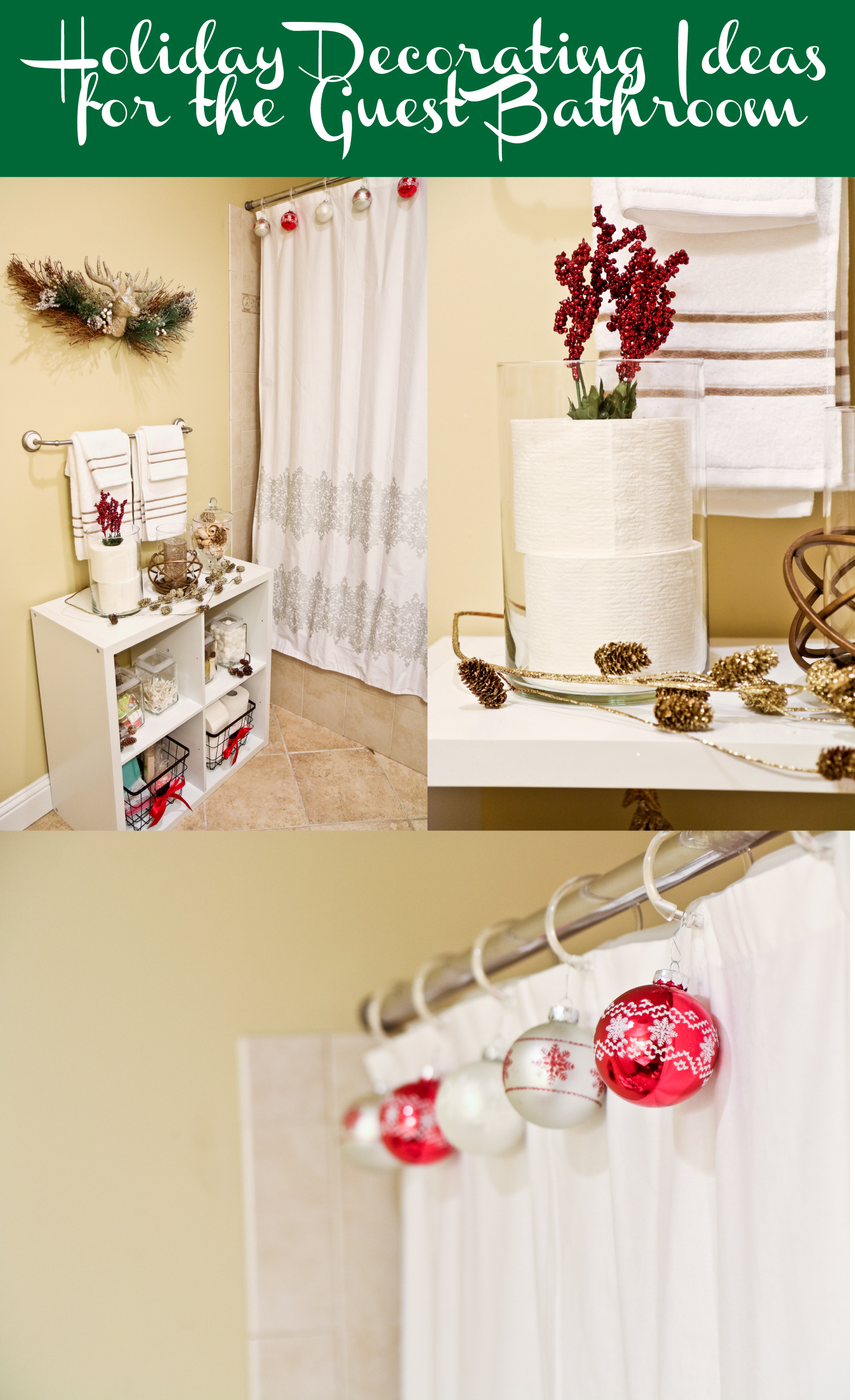 5 tips to prepare your home for holiday guests sandyalamode - How to decorate a guest bathroom ...