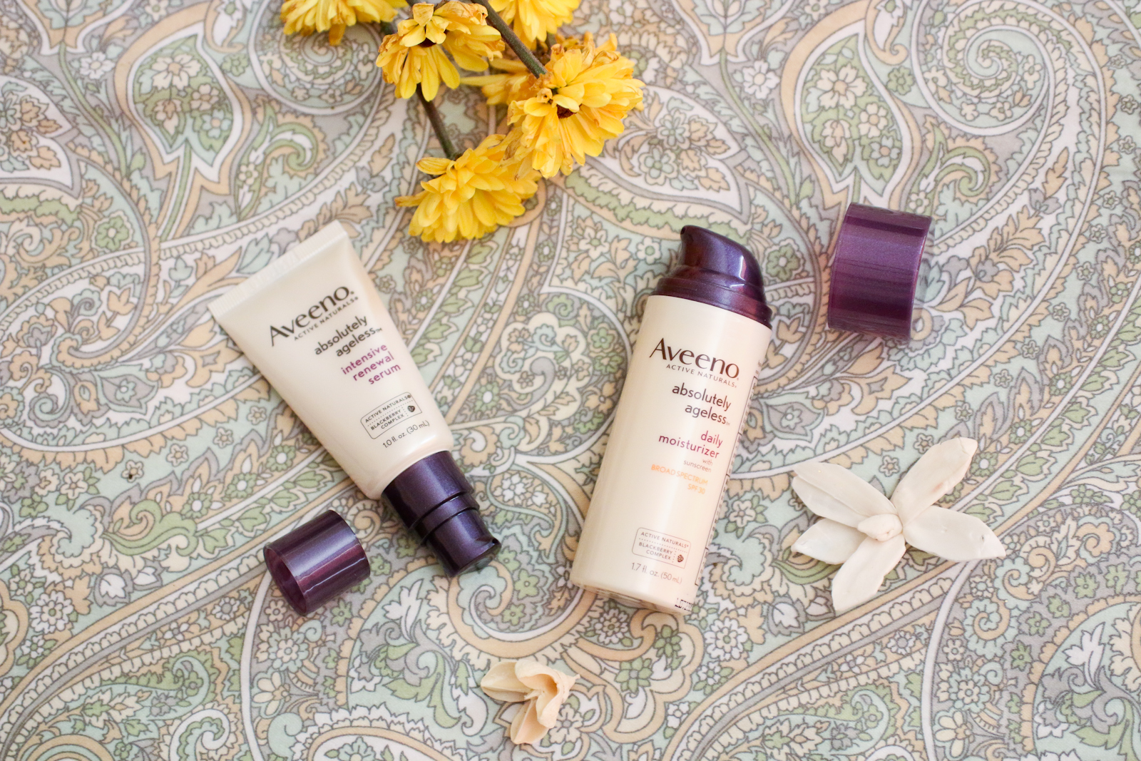 Aveeno Active Naturals Absolutely Ageless Line