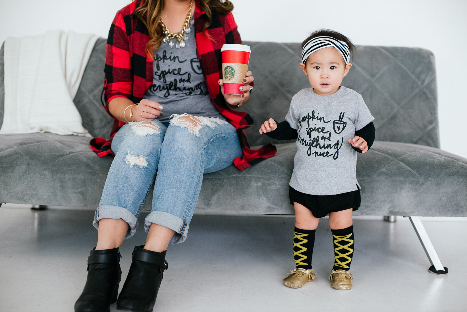Mommy and Me Style: Pumpkin Spice and Everything Nice