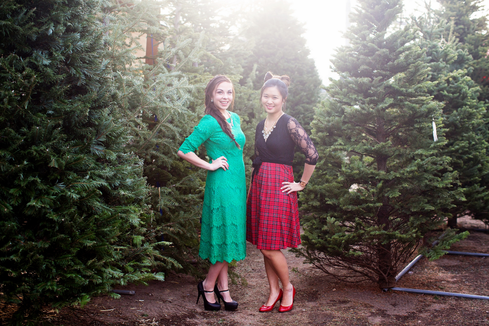 Utah fashion bloggers style holiday outfits