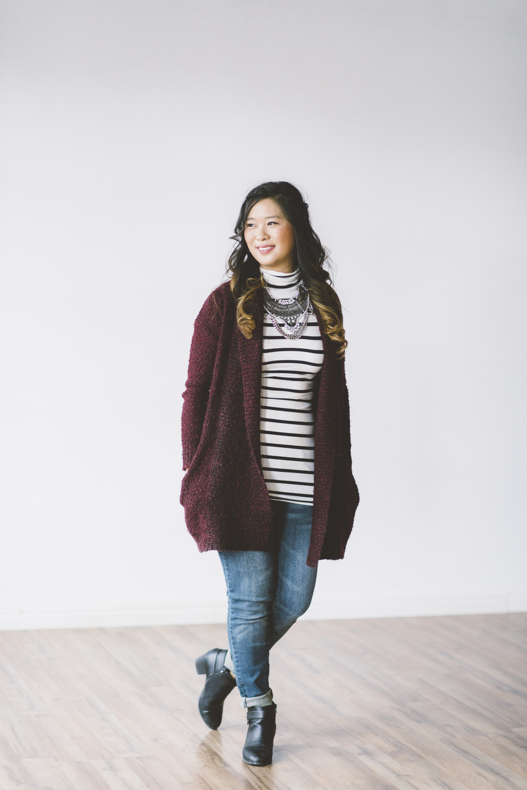 How to style a striped tee