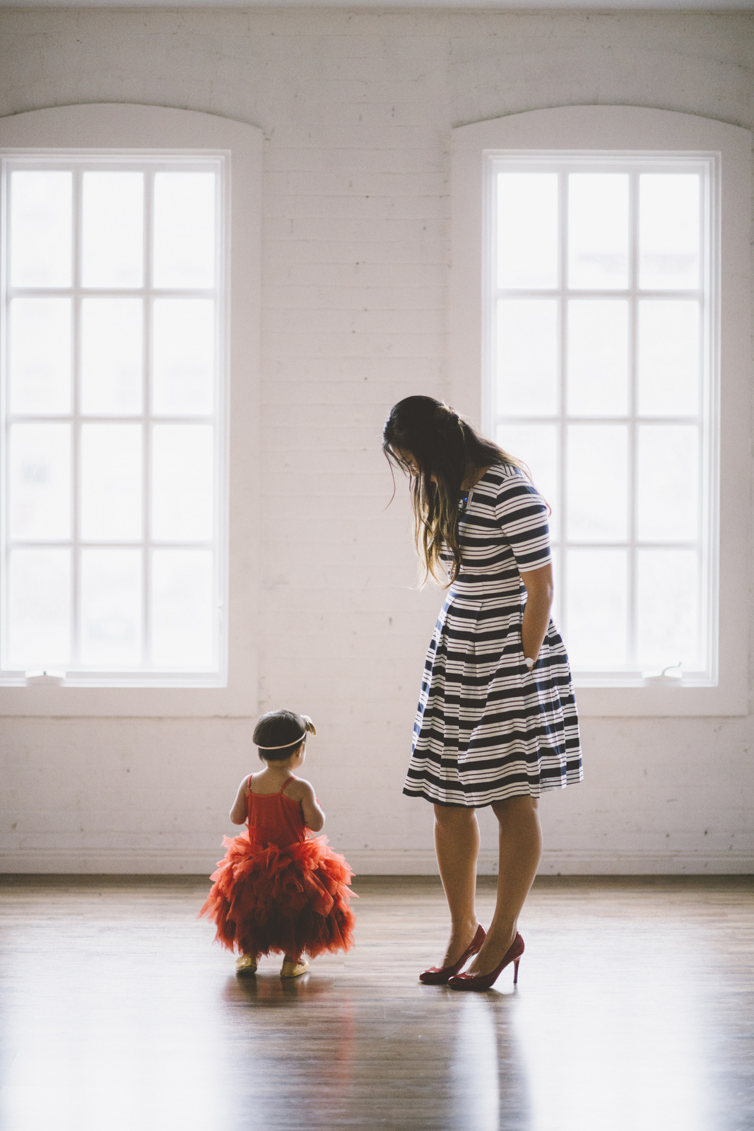 Mother and baby girl dresses