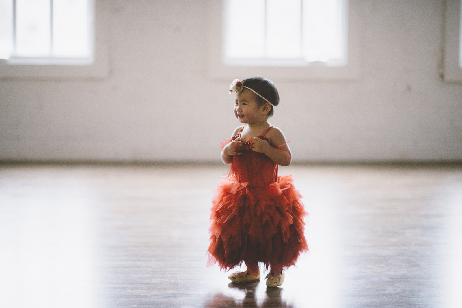 Rented baby girl dress from Rainey's Closet