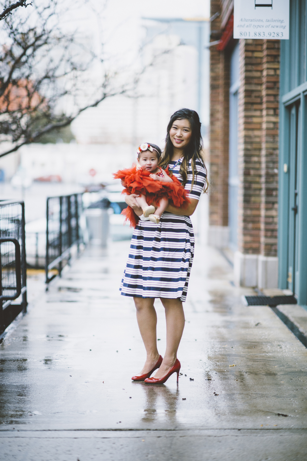 Mommy and me holiday outfits