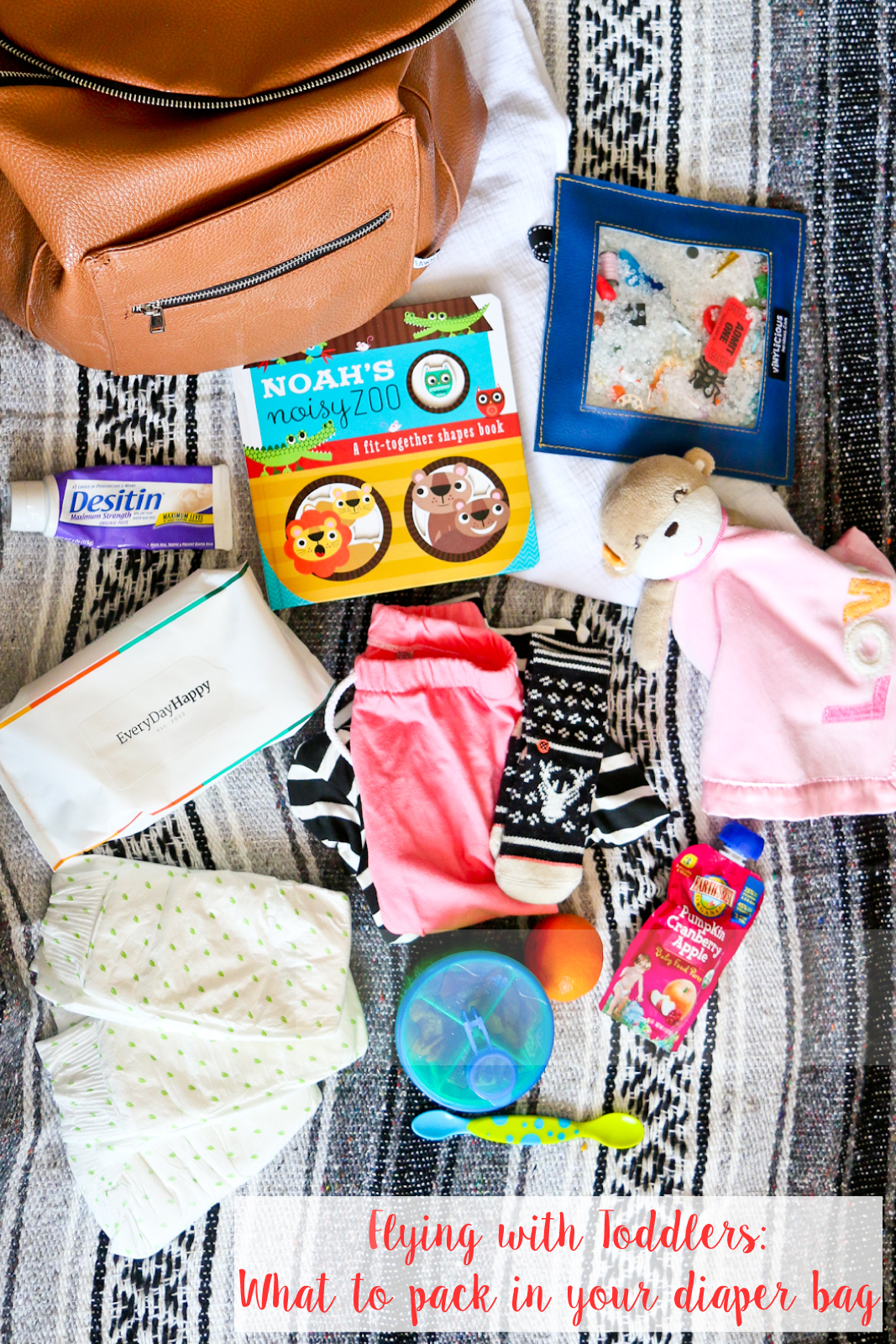 Flying-with-toddlers---What-to-pack-in-your-diaper-bag