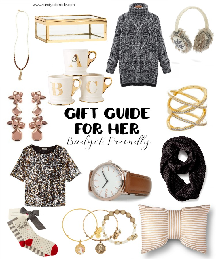 Gift Guide For Her Budget Friendly