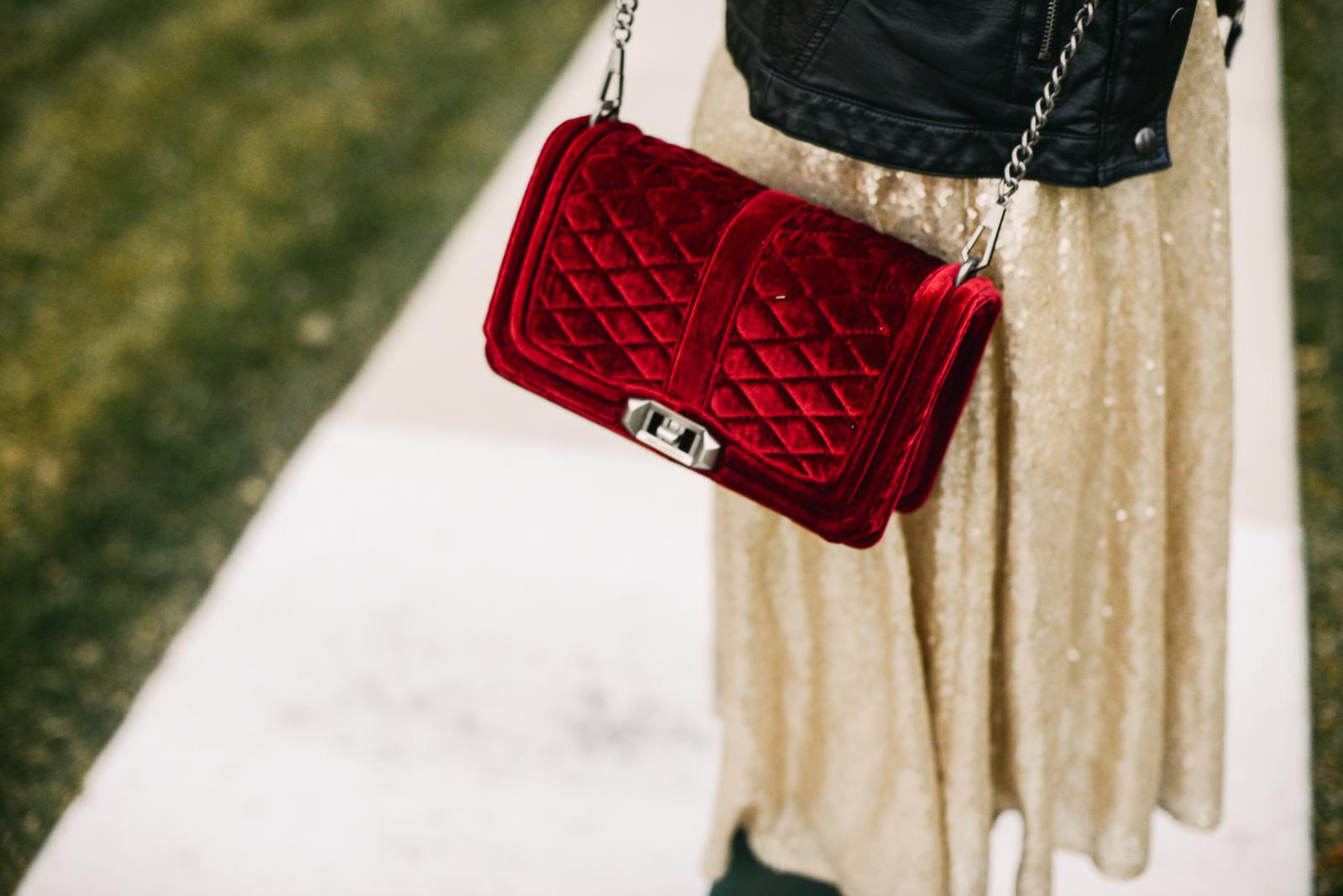 Rebecca Minkoff Velvet bag