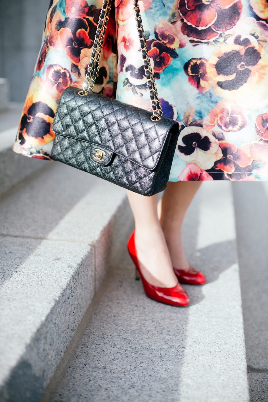 Outfit with Chanel Bag