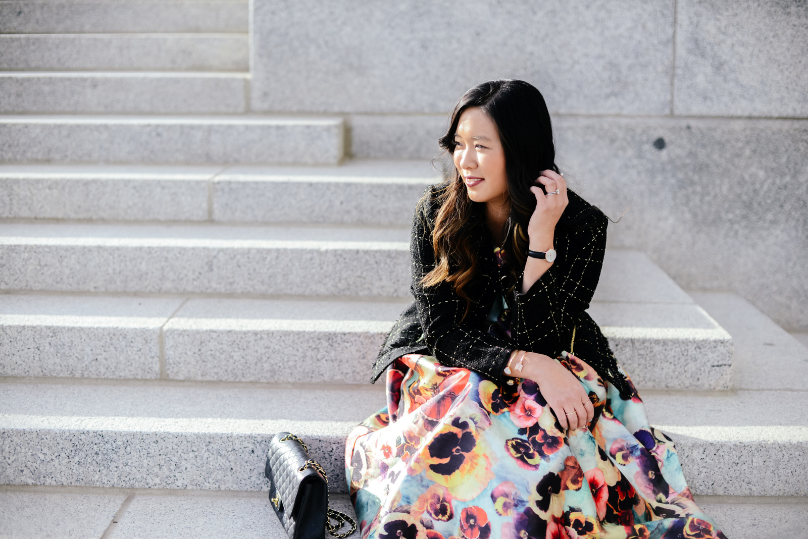 Fashion blogger outfit from Trolley Square