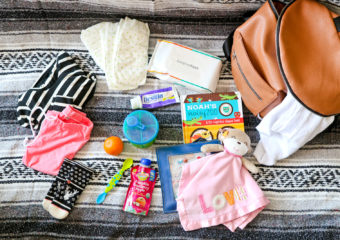 Flying with Toddlers: What to pack in your diaper bag