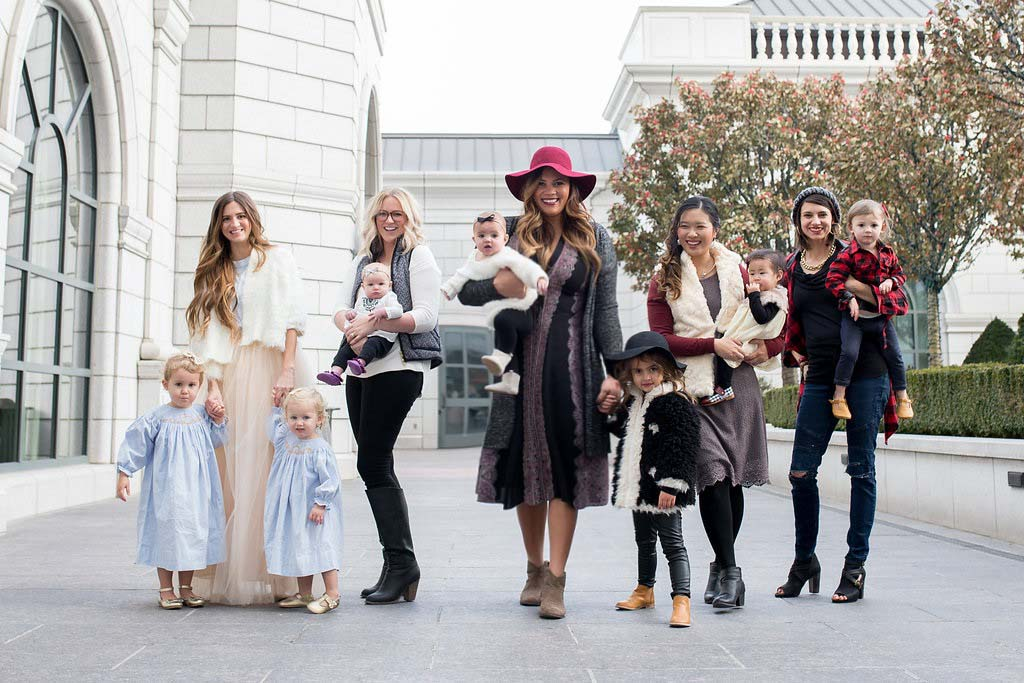 5 Ways to Style Holiday Outfits for Mamas and Daughters