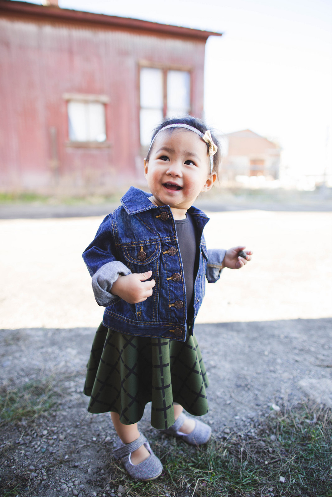 Jean jacket for babies