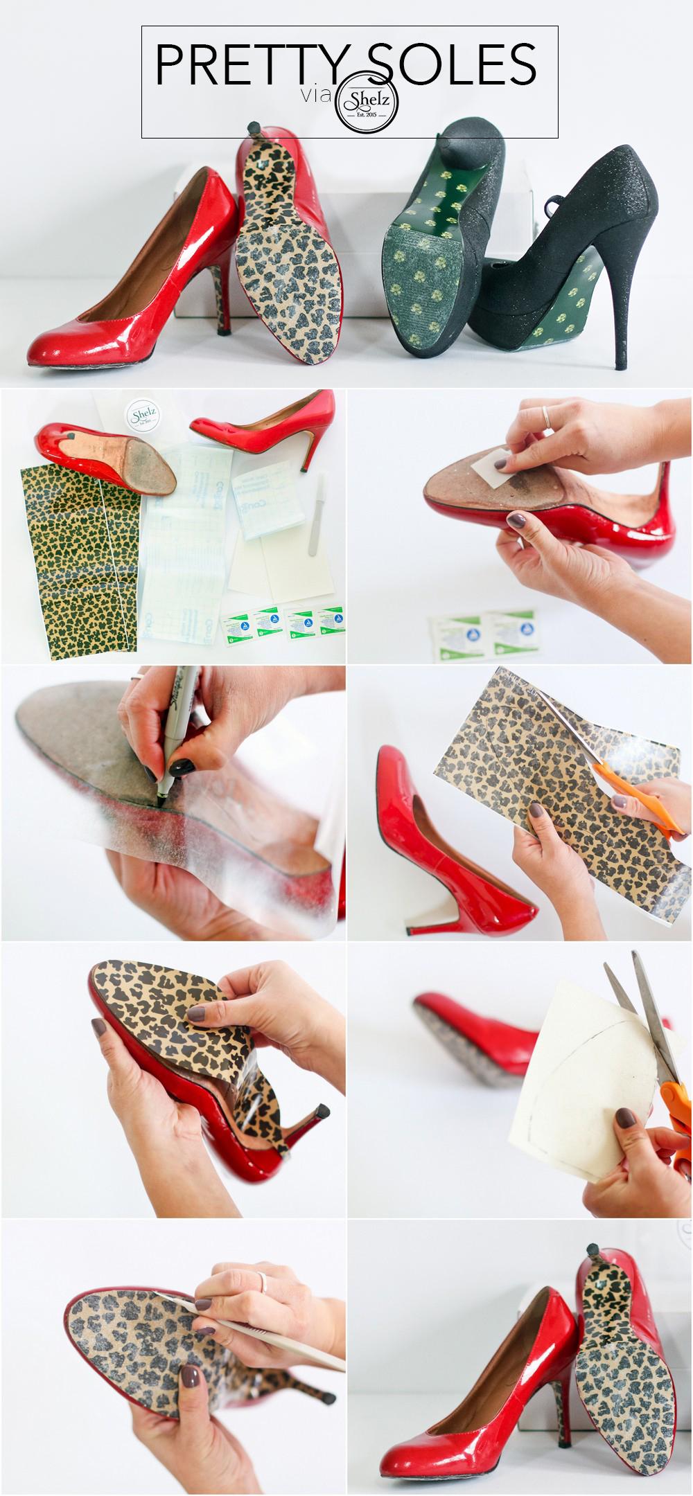 Shelz shoe wraps tutorial