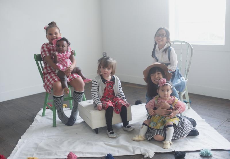 Hum Stitchery dresses for girls