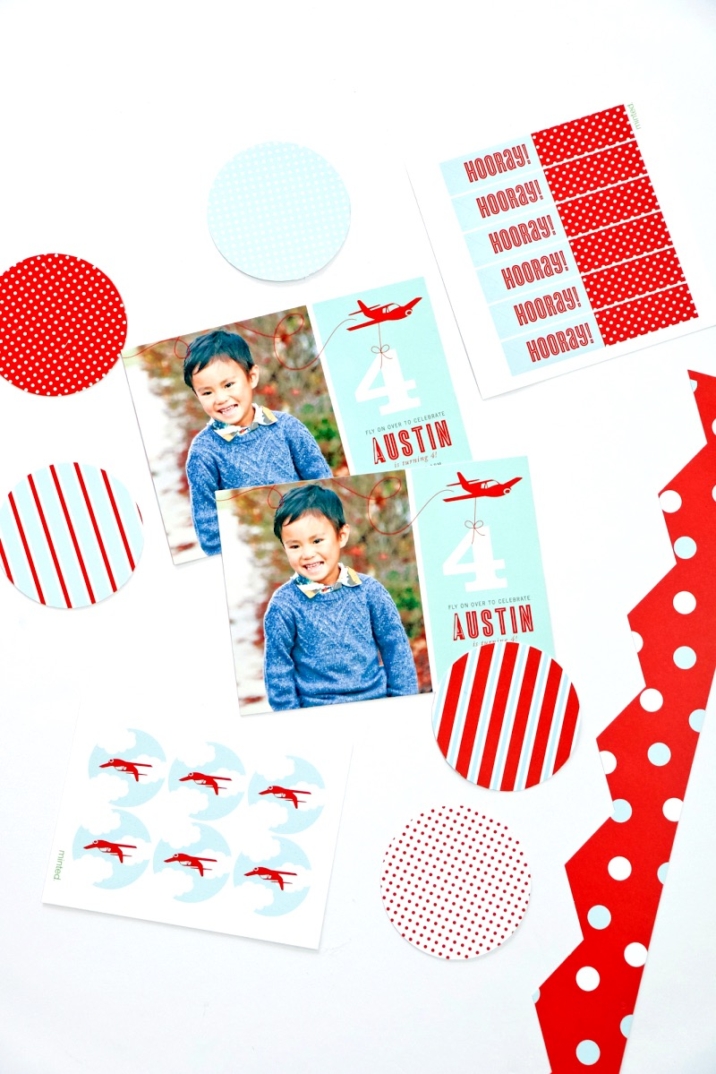 Minted Airplane Party Package