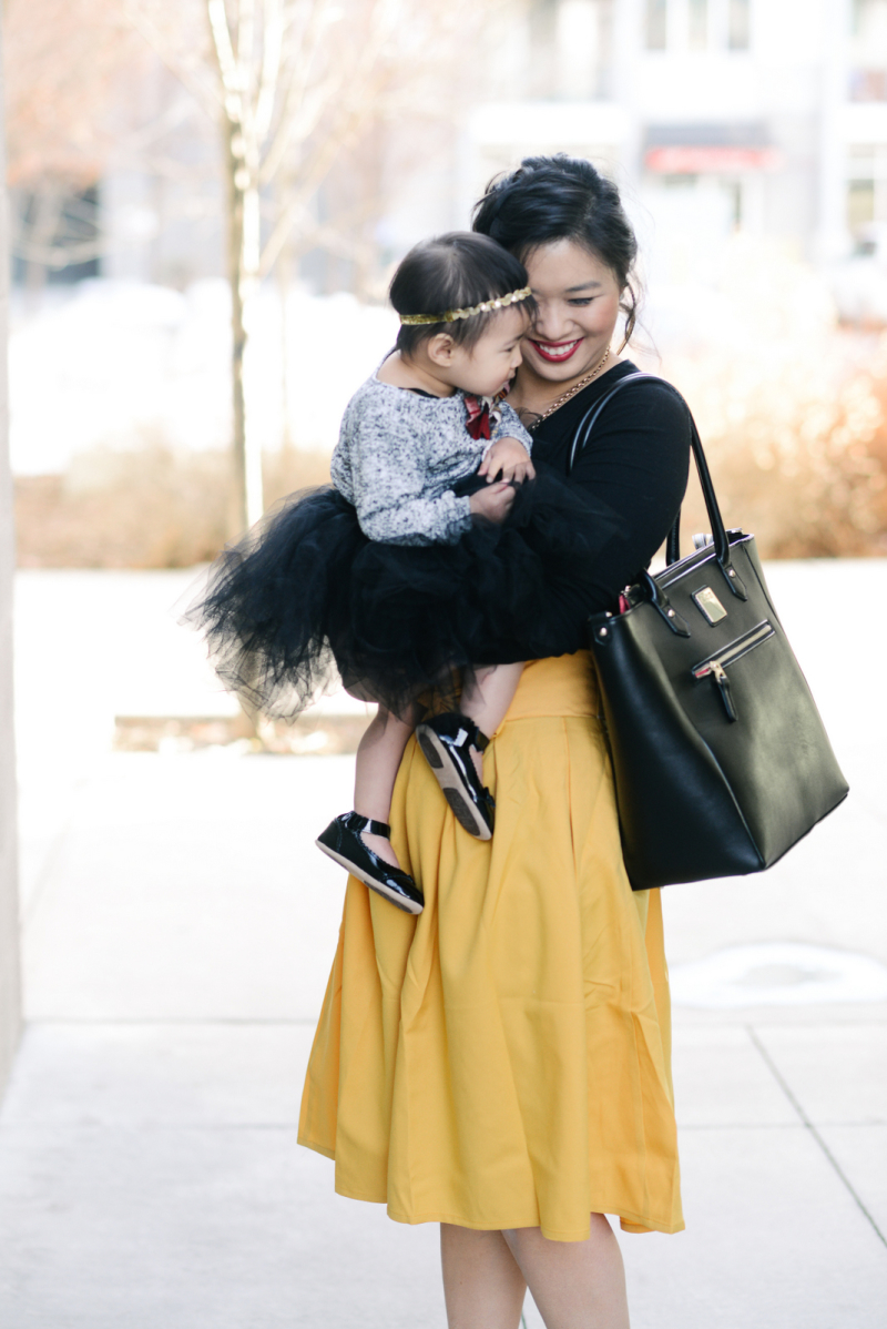 mommy and me dressy style